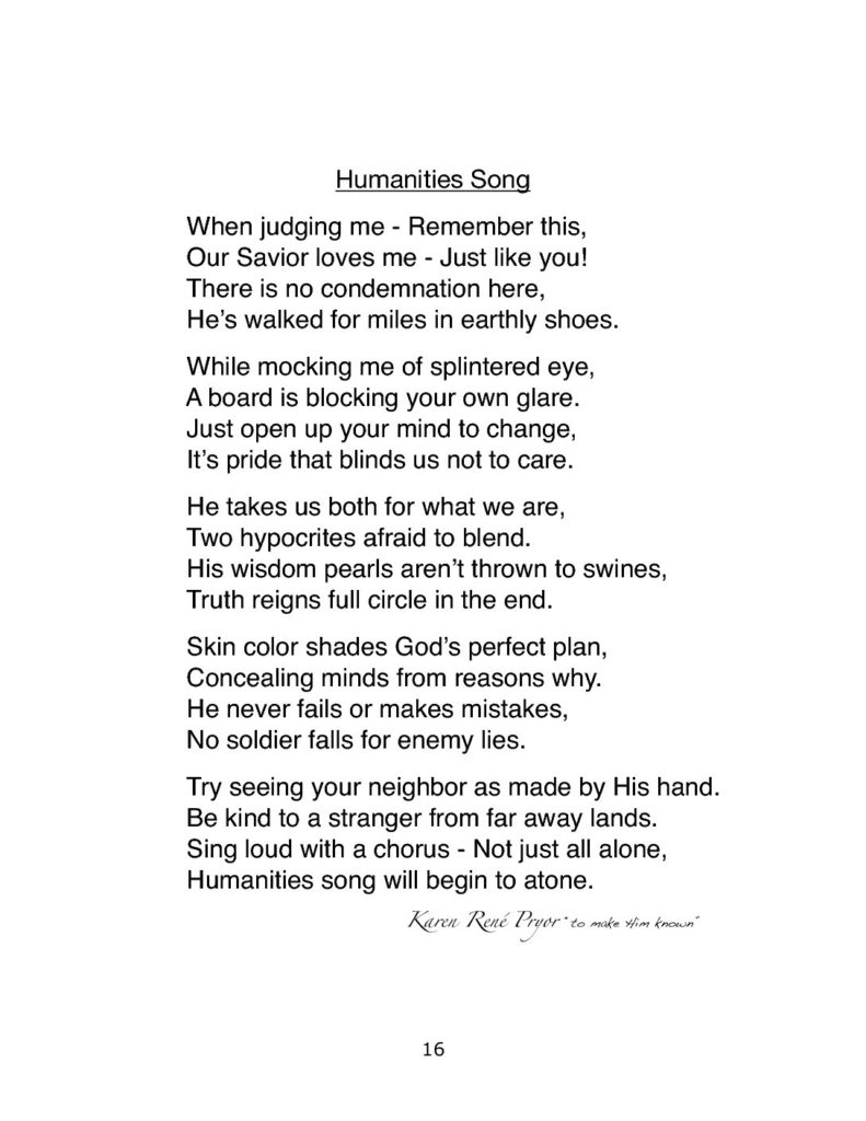 Humanities Song