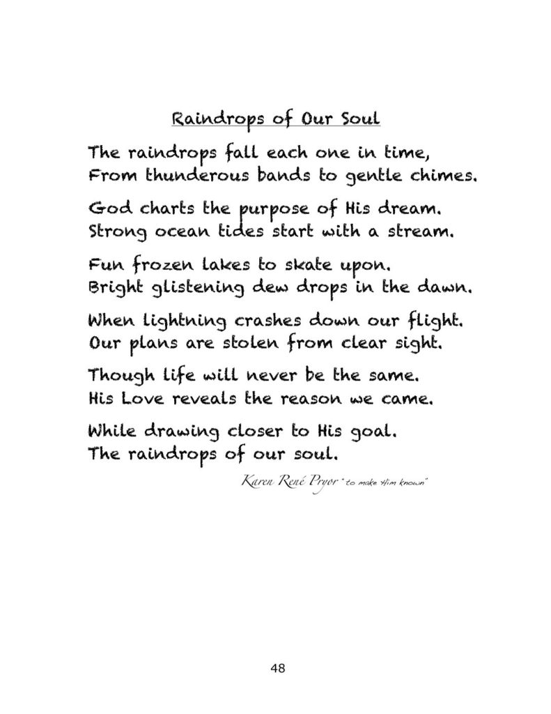 Raindrops of Our Soul