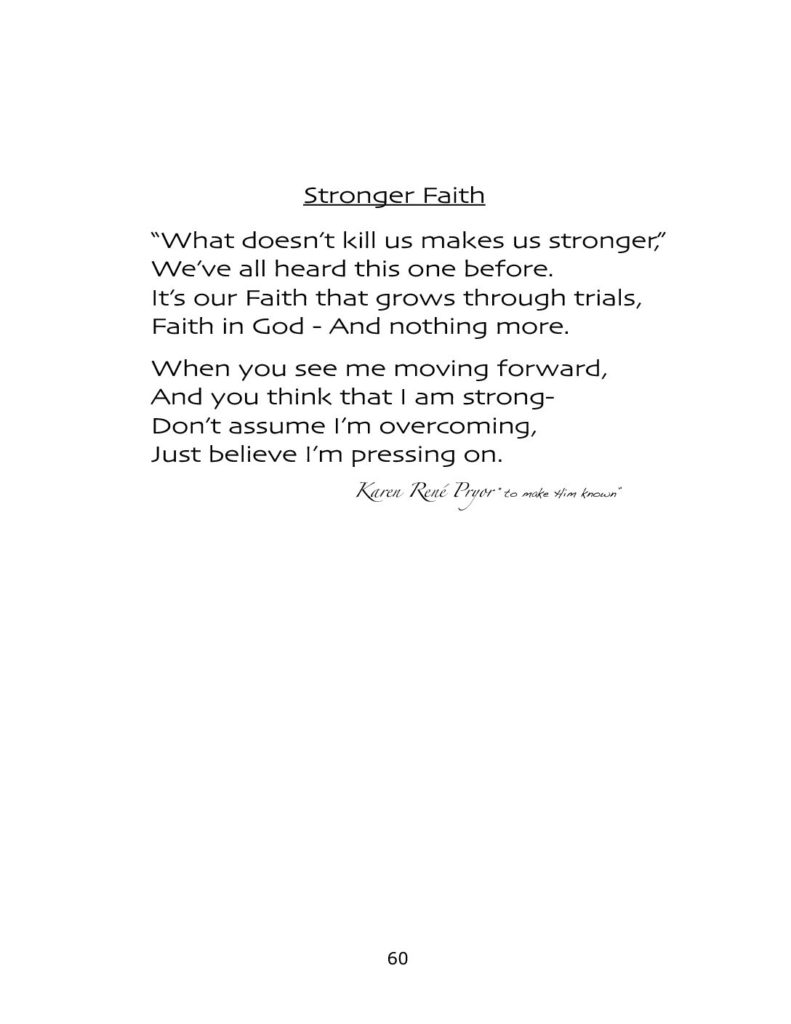 Stronger Faith